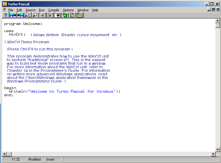 turbo pascal 1.5 pour windows 7 32bit